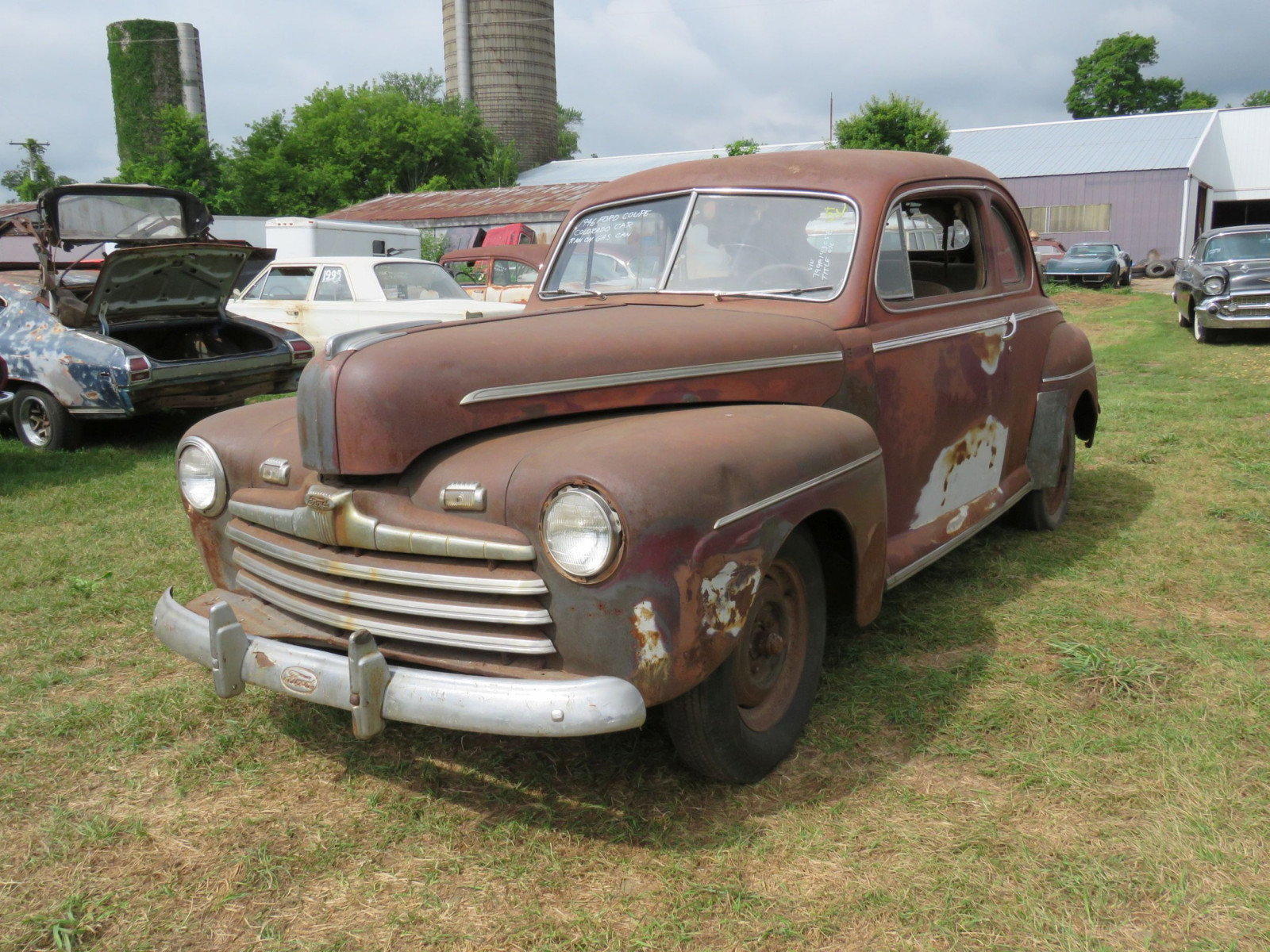 1946 Ford Super Deluxe Coupe Ford for Rod or Restore - Image 1
