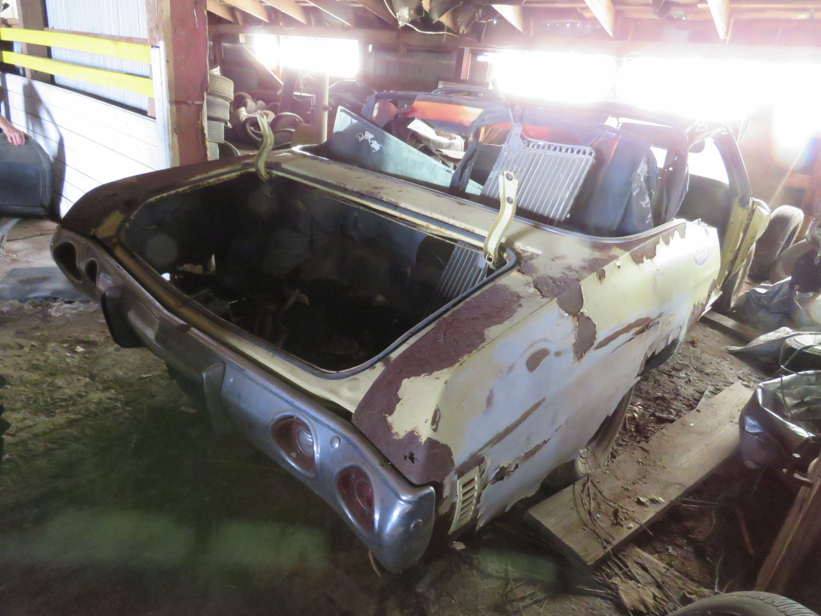 1972 Chevrolet Chevelle Convertible for Project or Parts - Image 6