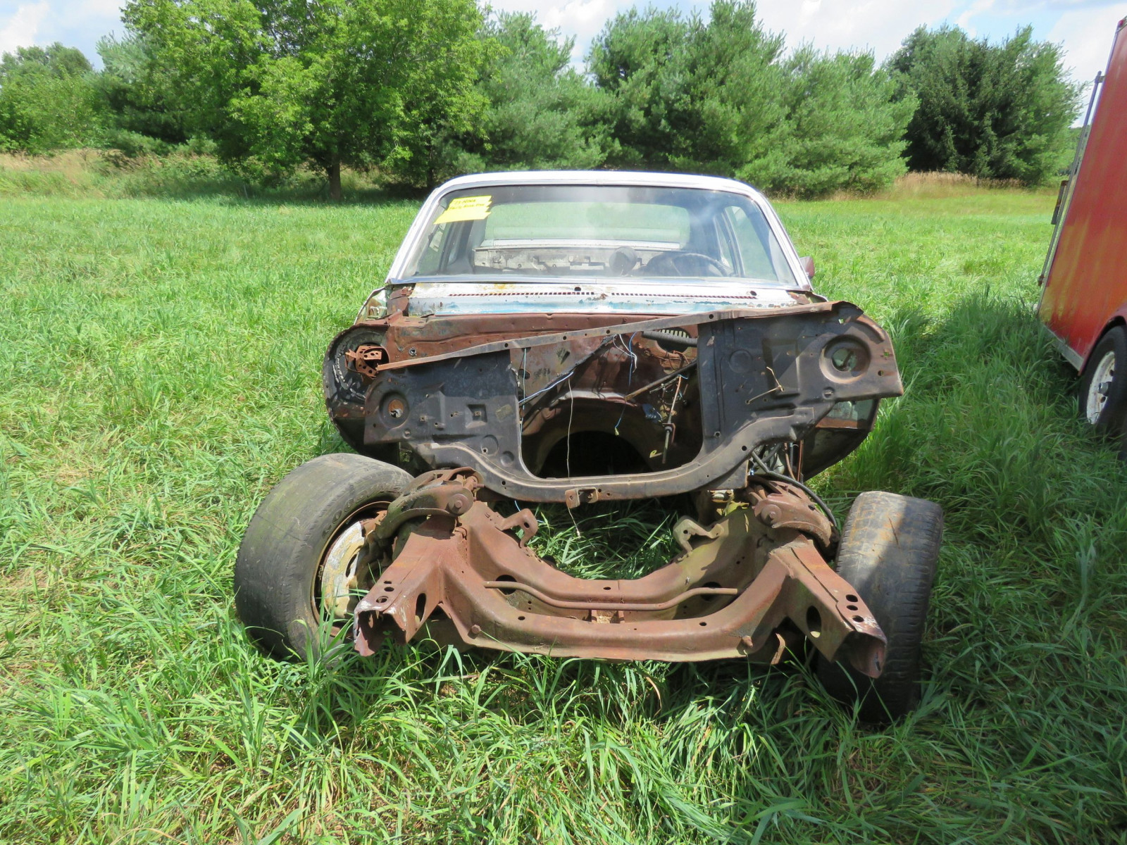1973 Chevrolet Nova Body for Restore or Parts - Image 2