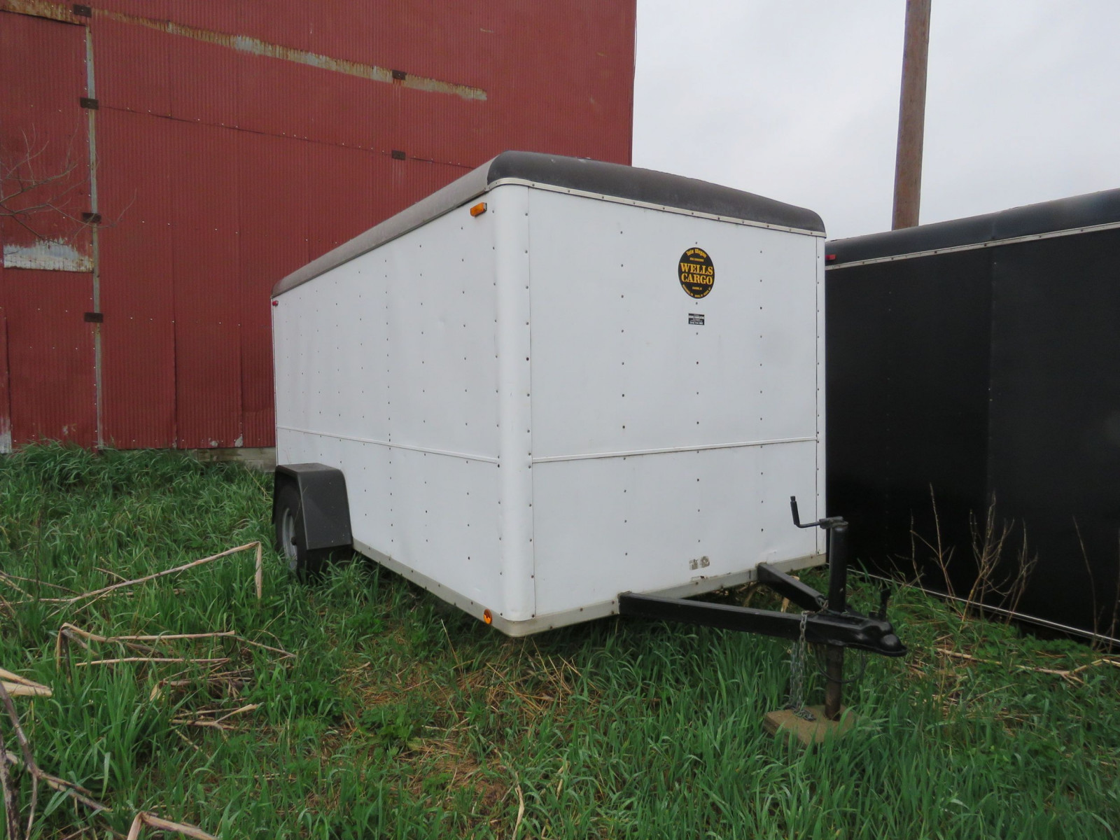 Wells Cargo Enclosed Trailer - Image 1