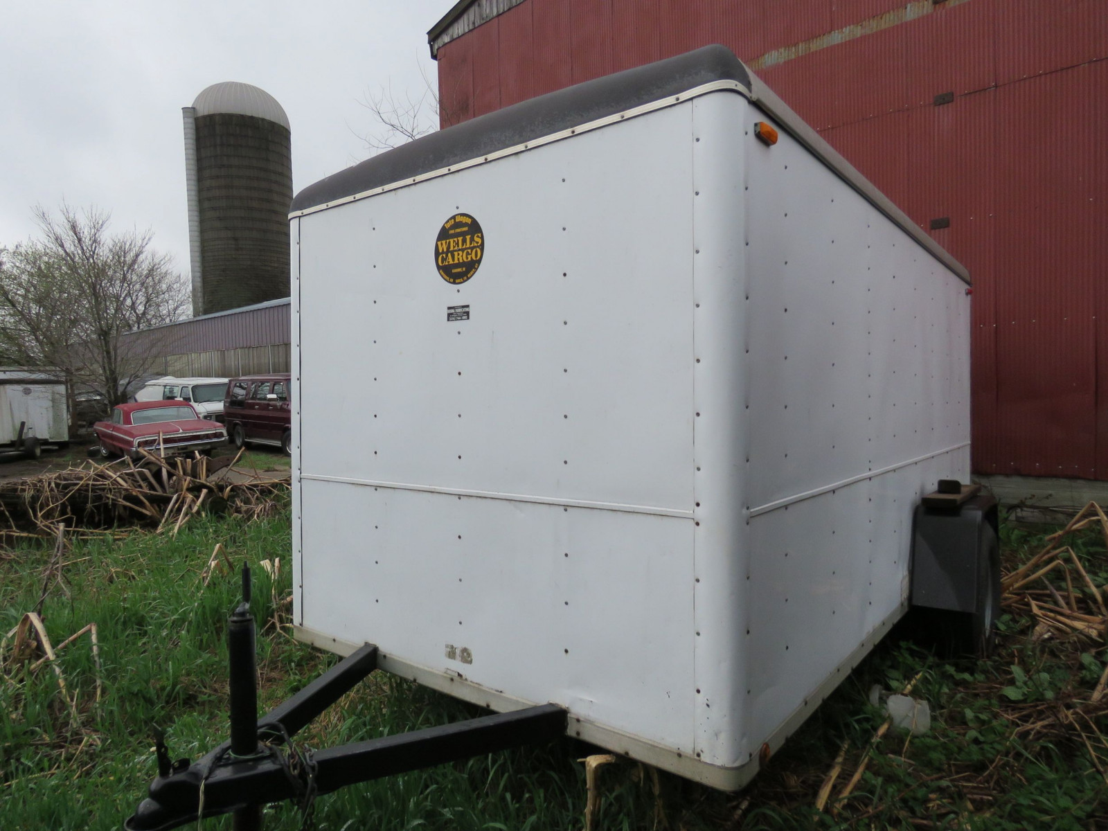 Wells Cargo Enclosed Trailer - Image 2