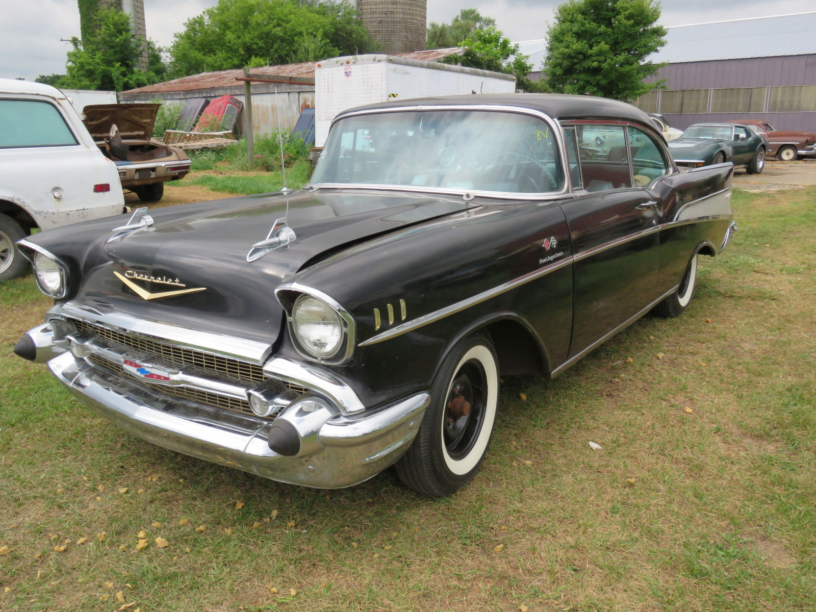 1957 Chevrolet Belair Fuel Injected 2dr HT - Image 1