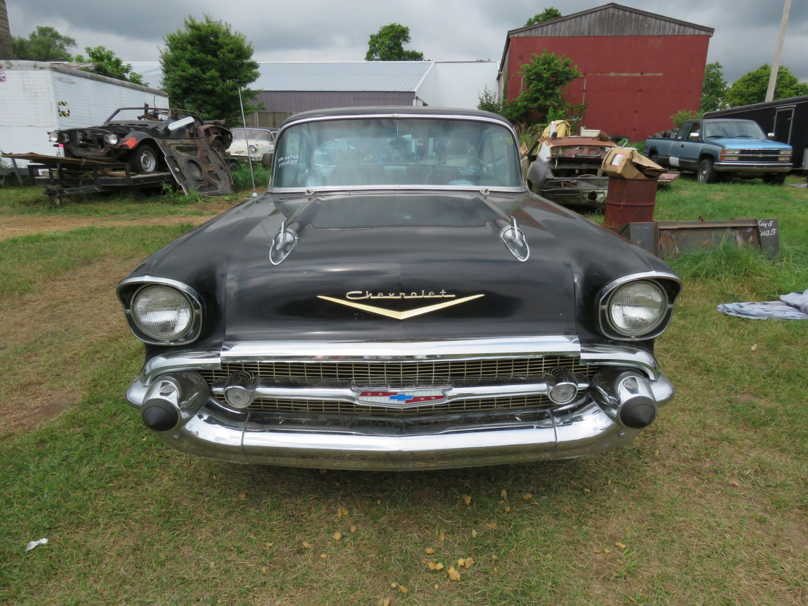 1957 Chevrolet Belair Fuel Injected 2dr HT - Image 2
