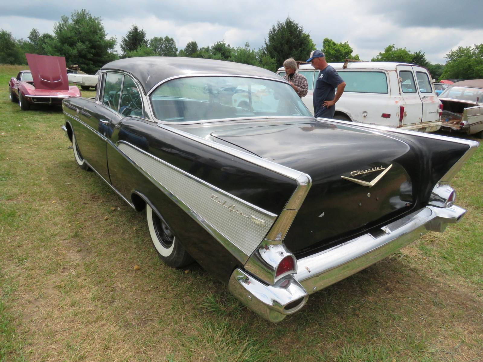 1957 Chevrolet Belair Fuel Injected 2dr HT - Image 7