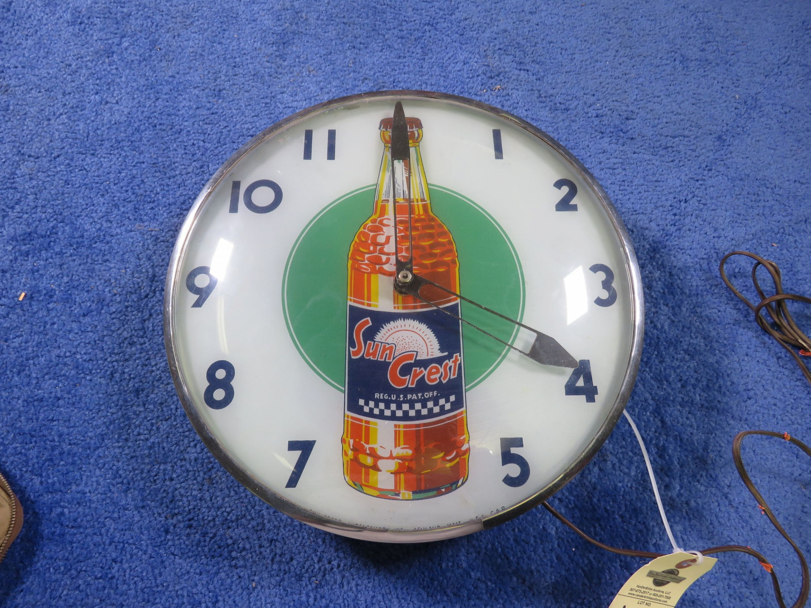 Vintage Suncrest Clock - Image 2