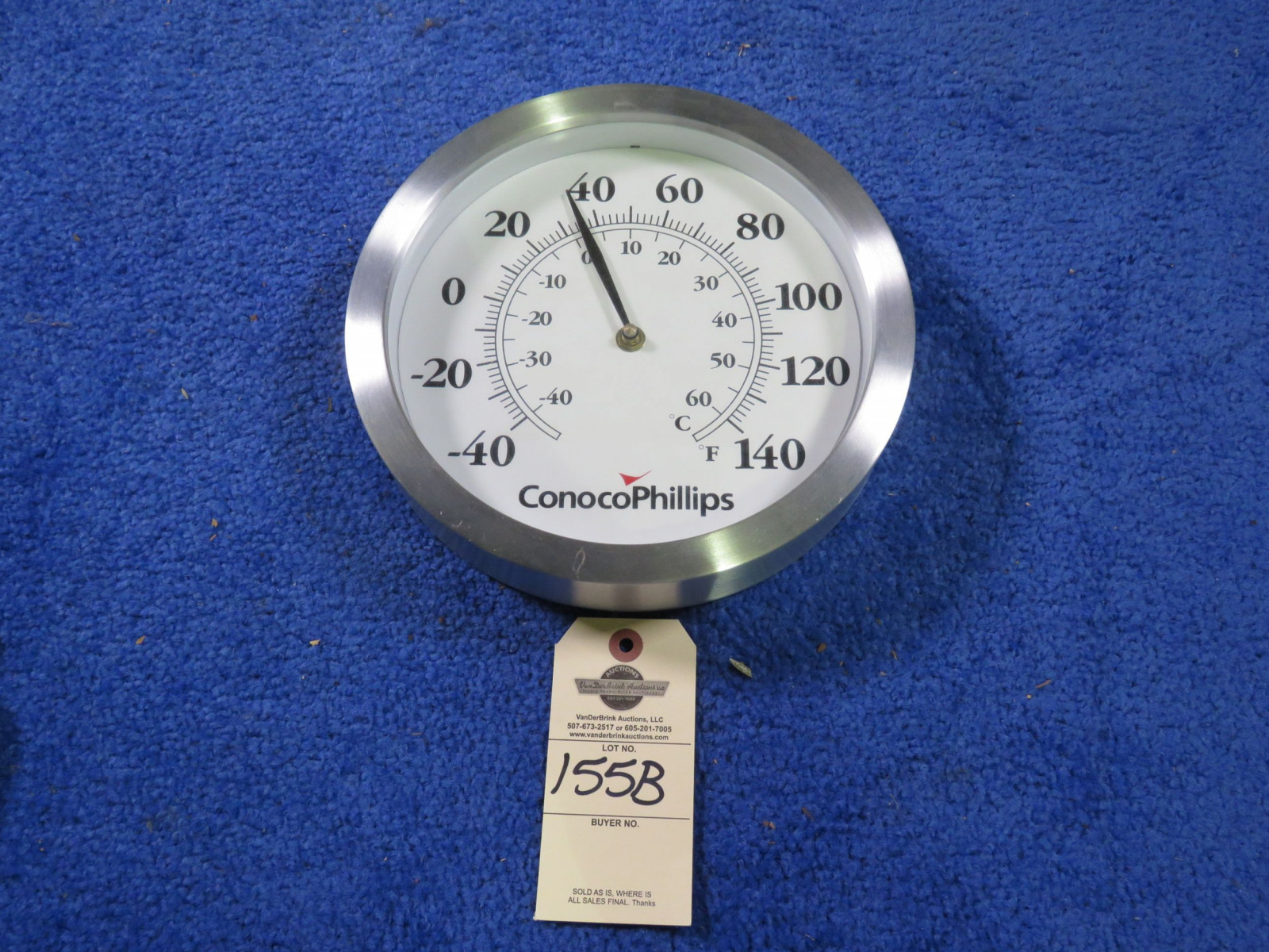 Conoco Phillips Thermometer - Image 1