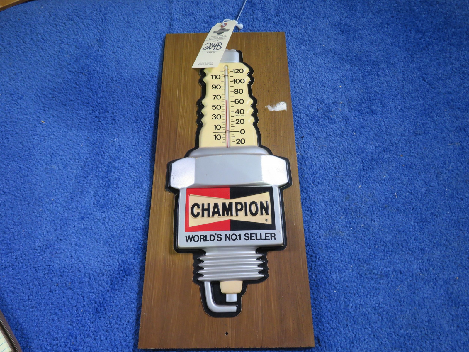 Champion Sparkplugs Thermometer - Image 1