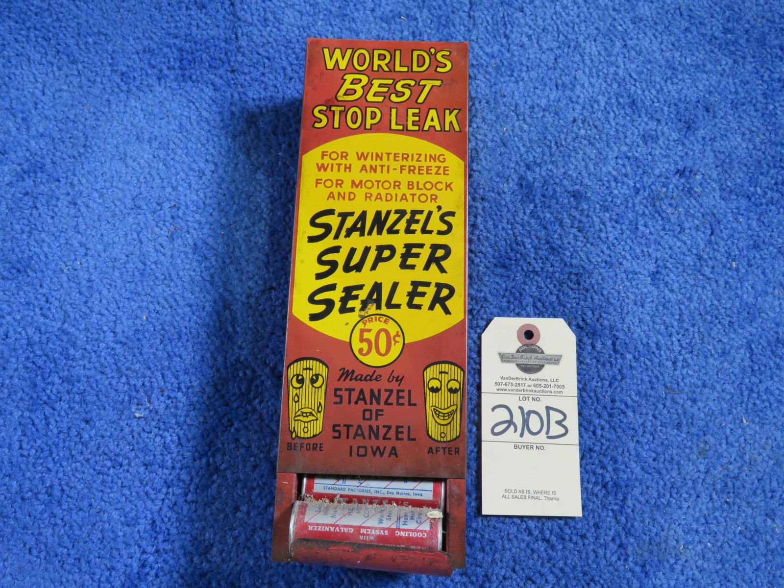 Stop Seal Stanzel Display Painted Tin - Image 2