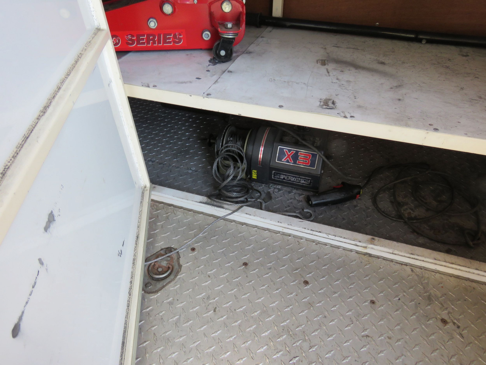 1994 S&S Welding Enclosed Trailer - Image 7