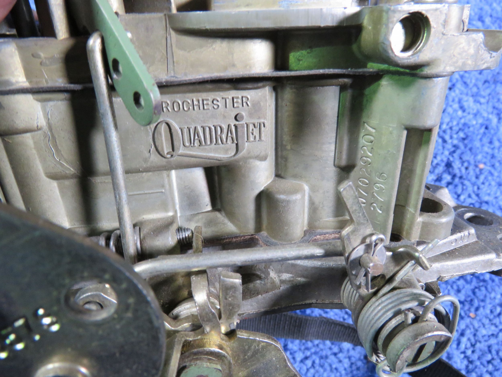 Quadra-Jet 4bbl Prepped Carburator for NHRA Run - Image 3