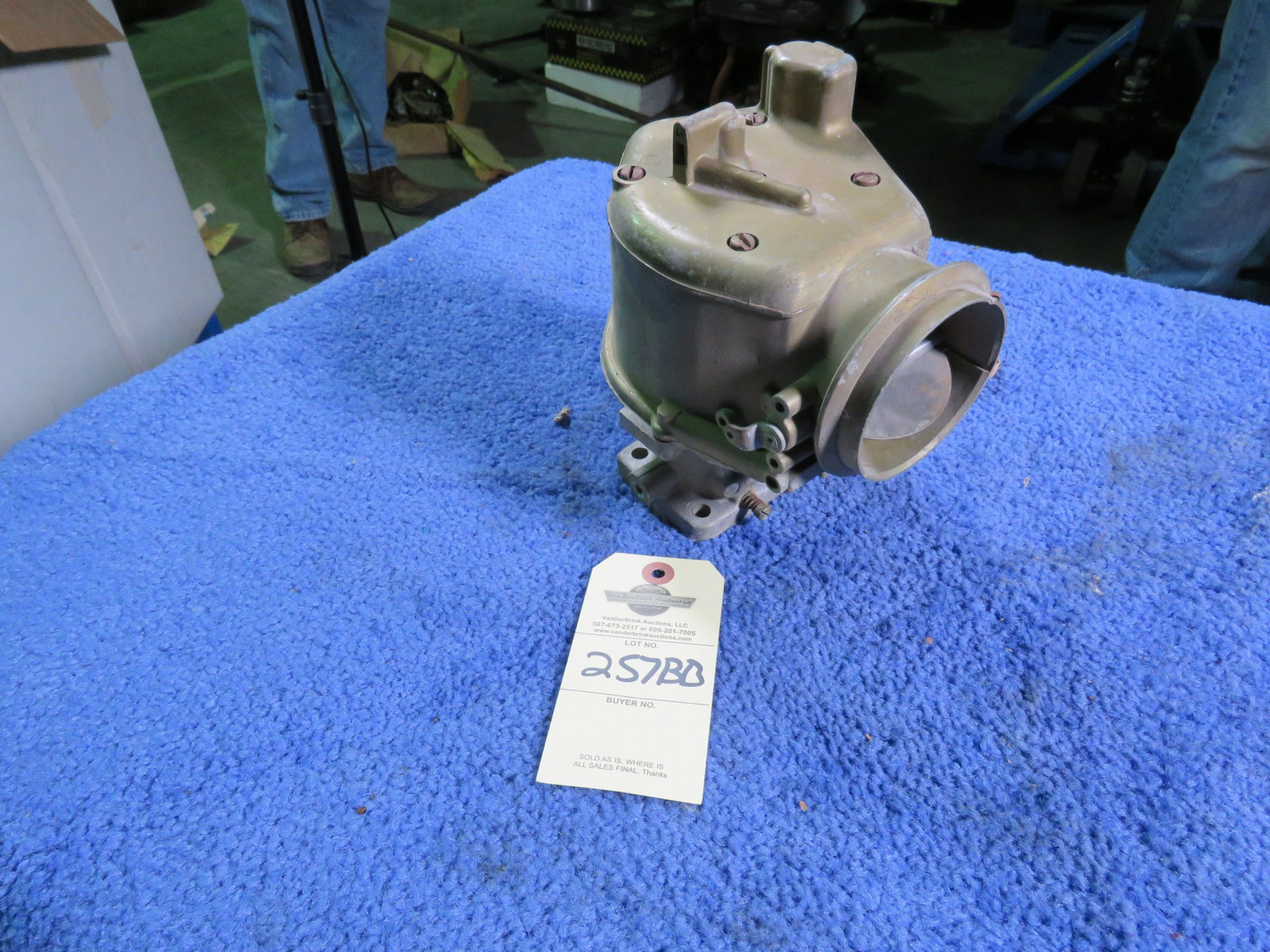 Mercury Factory NOS 2bbl Carburator - Image 1