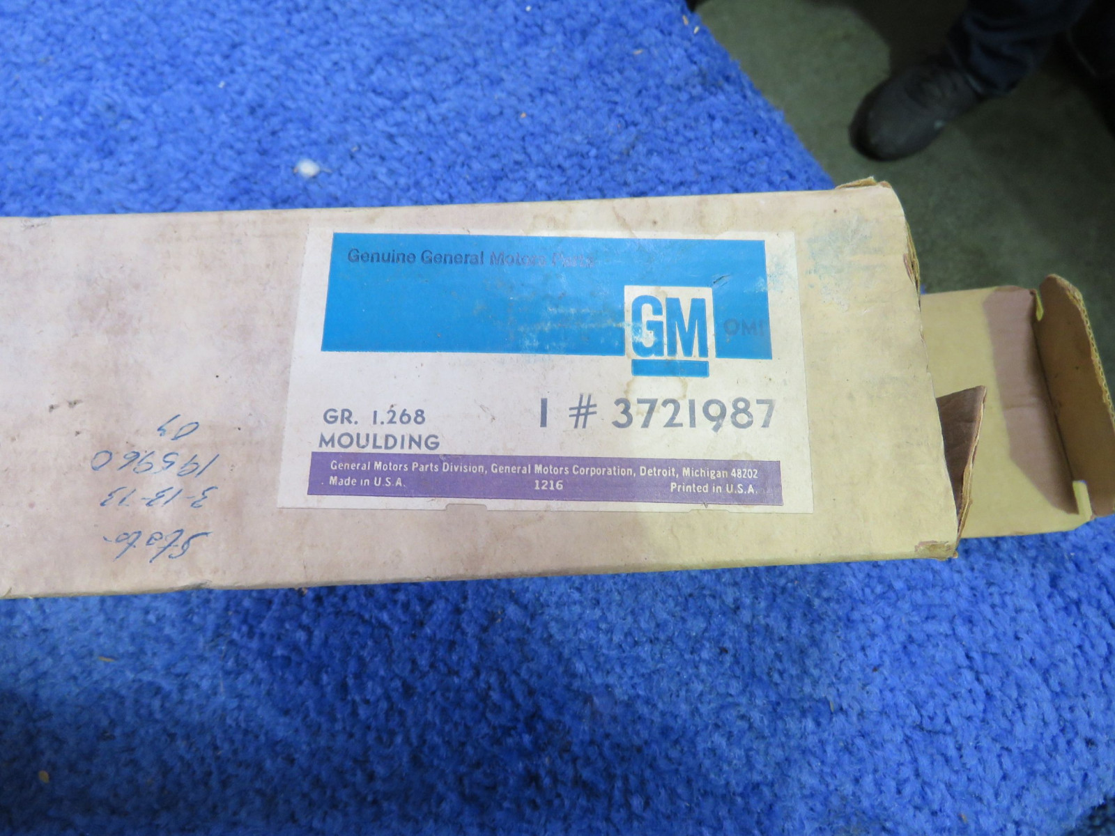 NOS 1956 Chevrolet Grill Moldings - Image 2