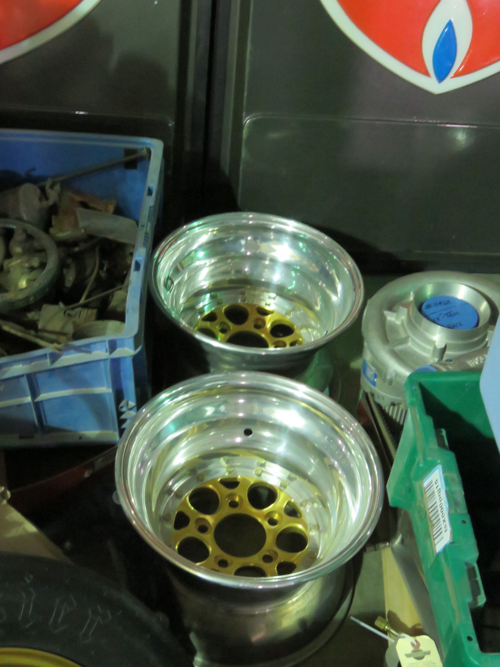 Set of Weld Gold Rims - Image 2