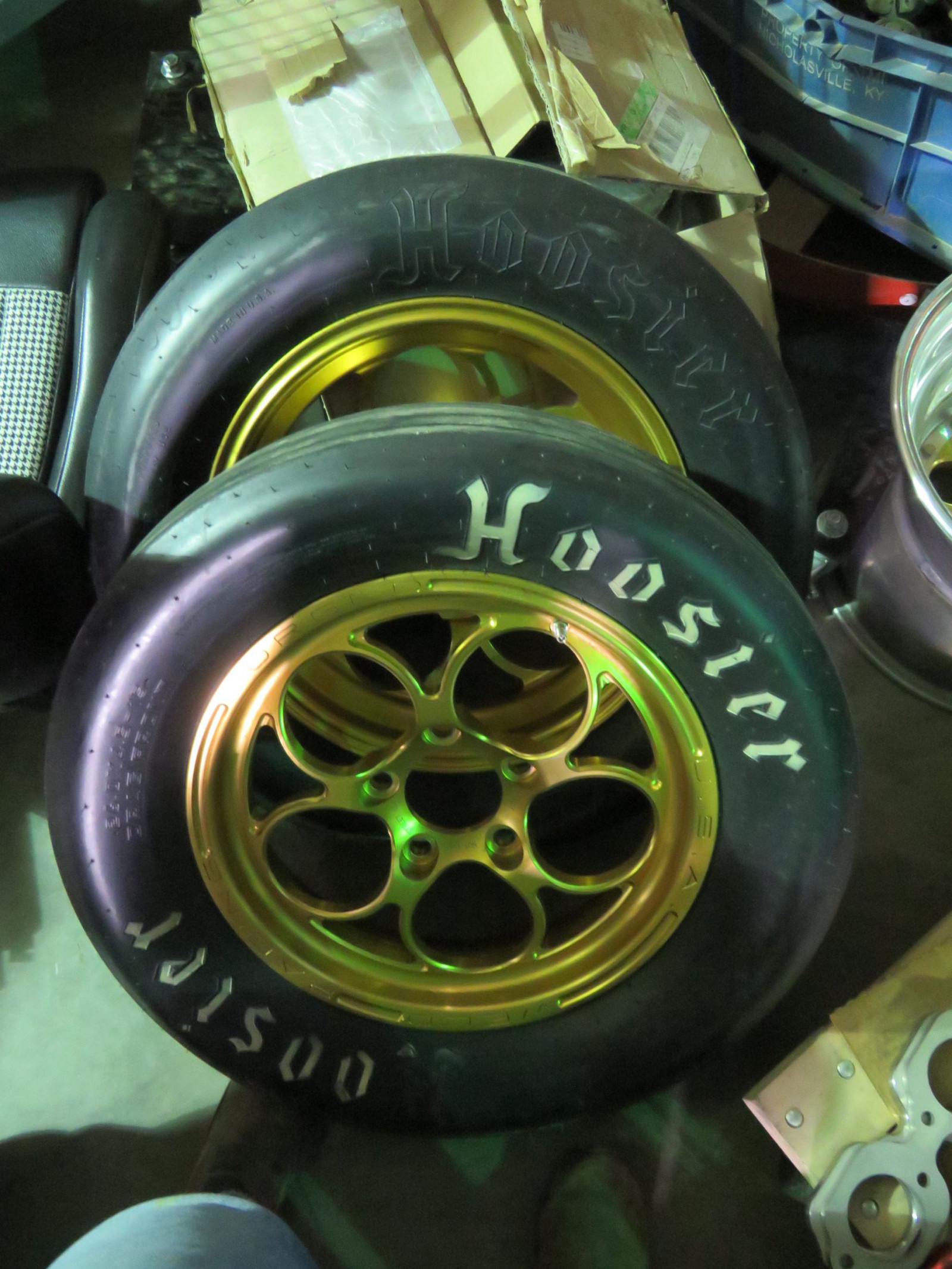 Set of Weld Gold Rims - Image 3