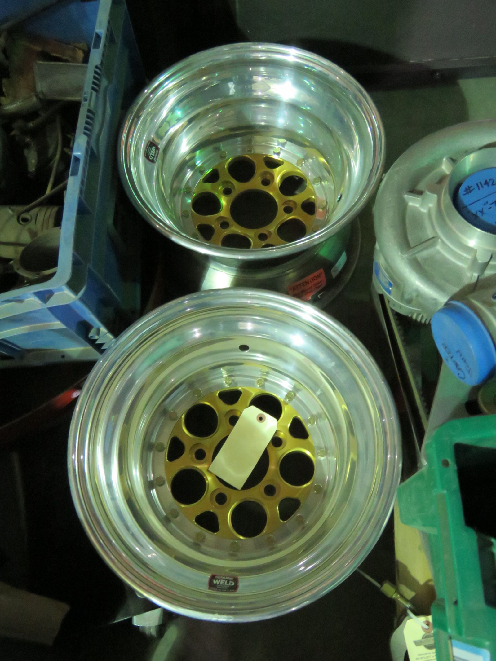 Set of Weld Gold Rims - Image 4