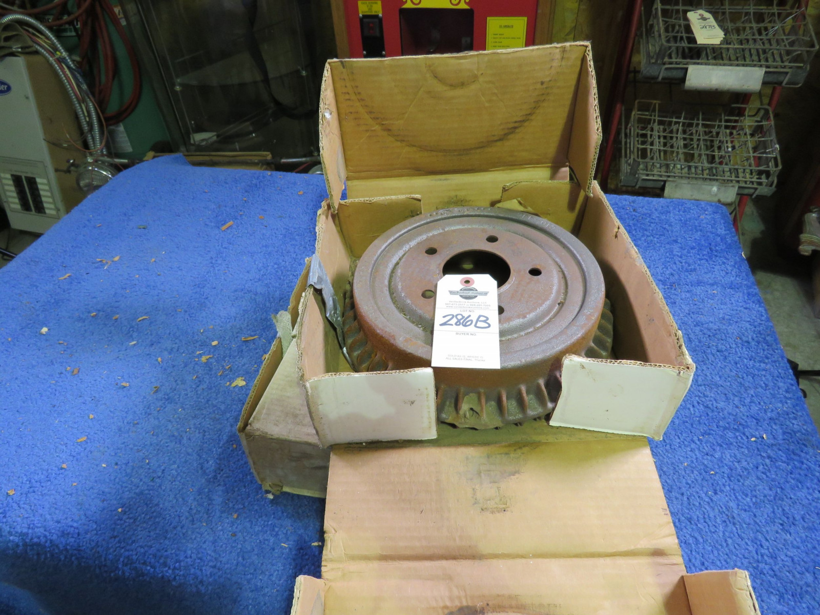 1968 GTO Rear brake Drums - Image 1