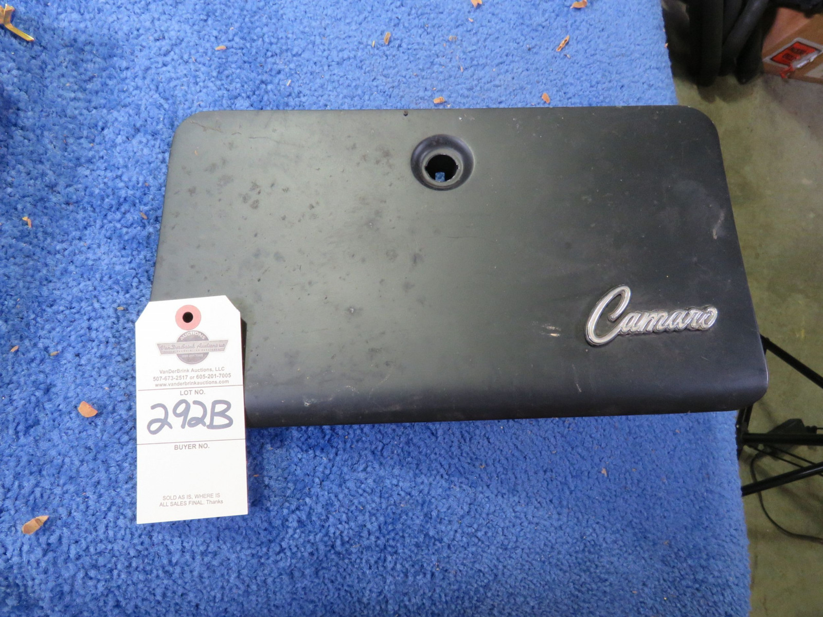Chevrolet Camaro Glove Box Cover - Image 1