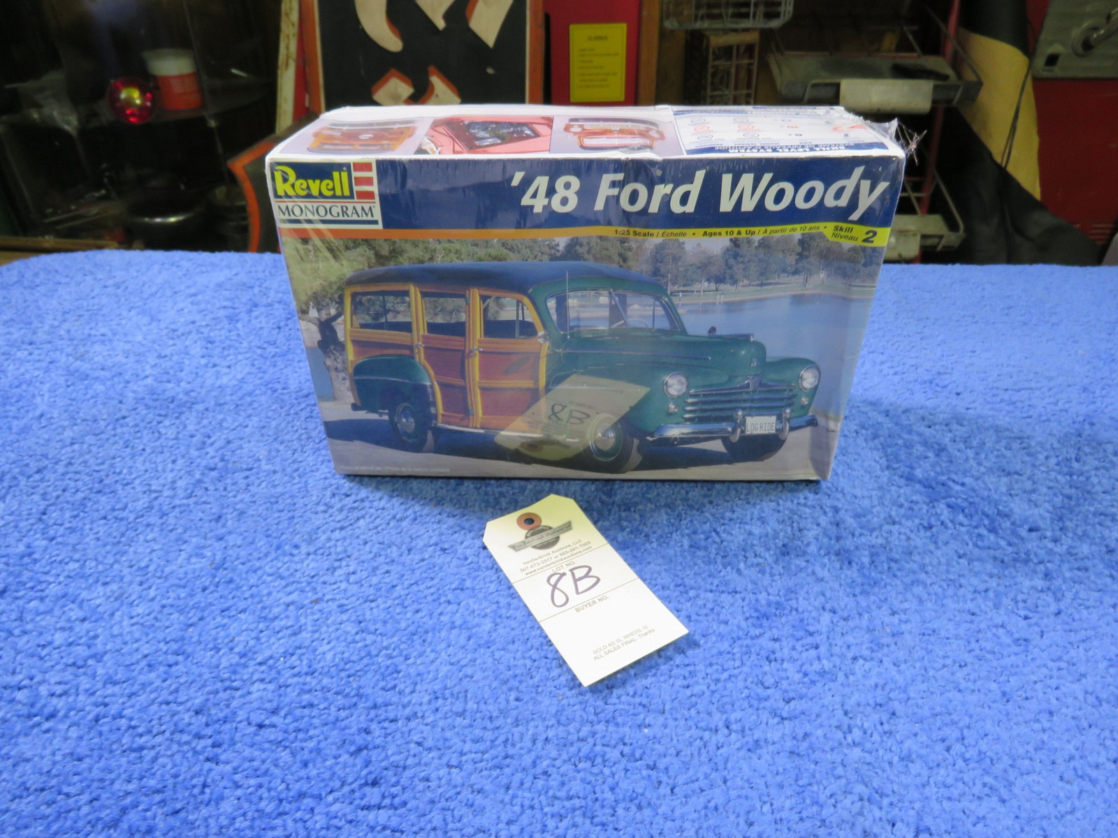 Revell 1948  Woody Wagon Model - Image 1