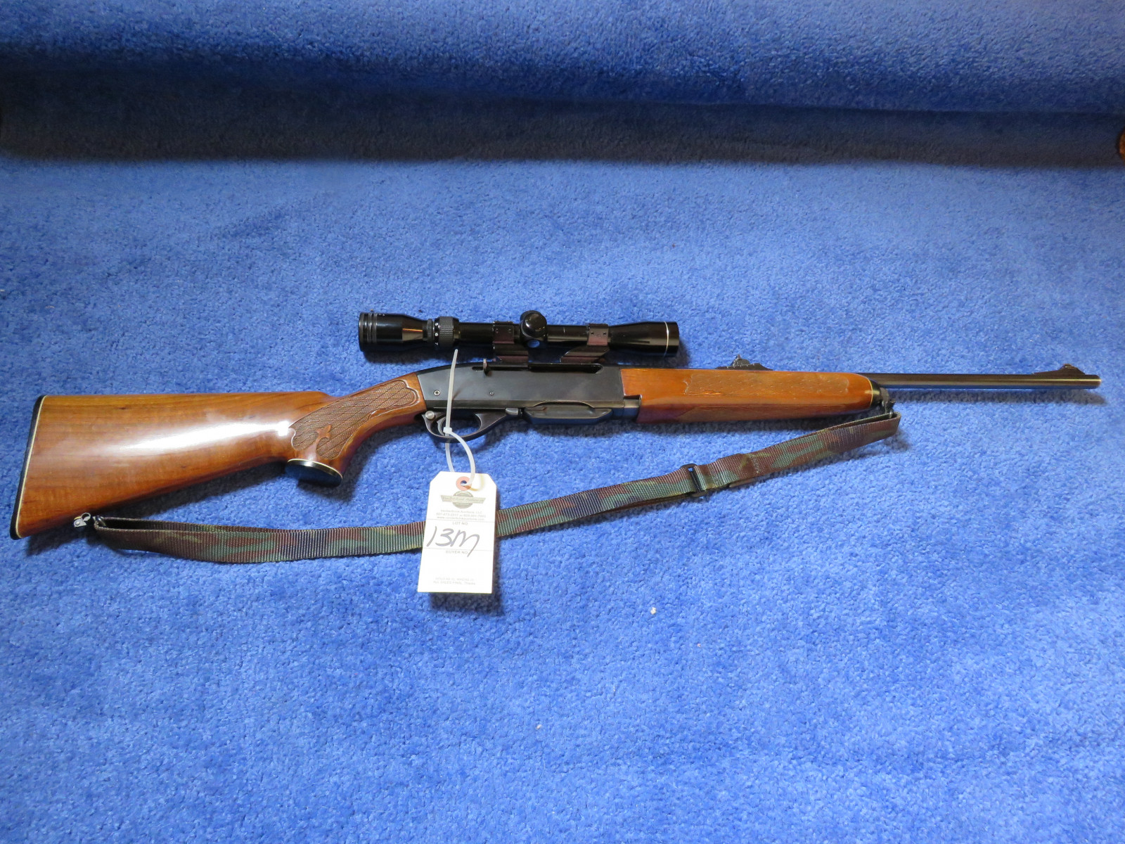 Remington 30.06 Model 742 Woodmaster Rifle - Image 1