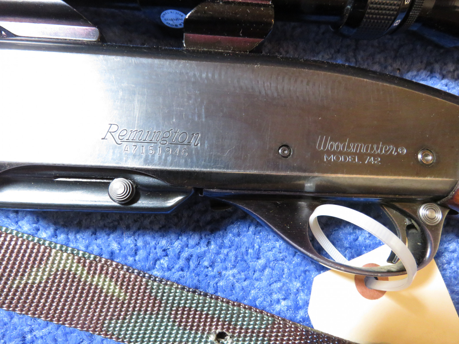 Remington 30.06 Model 742 Woodmaster Rifle - Image 4