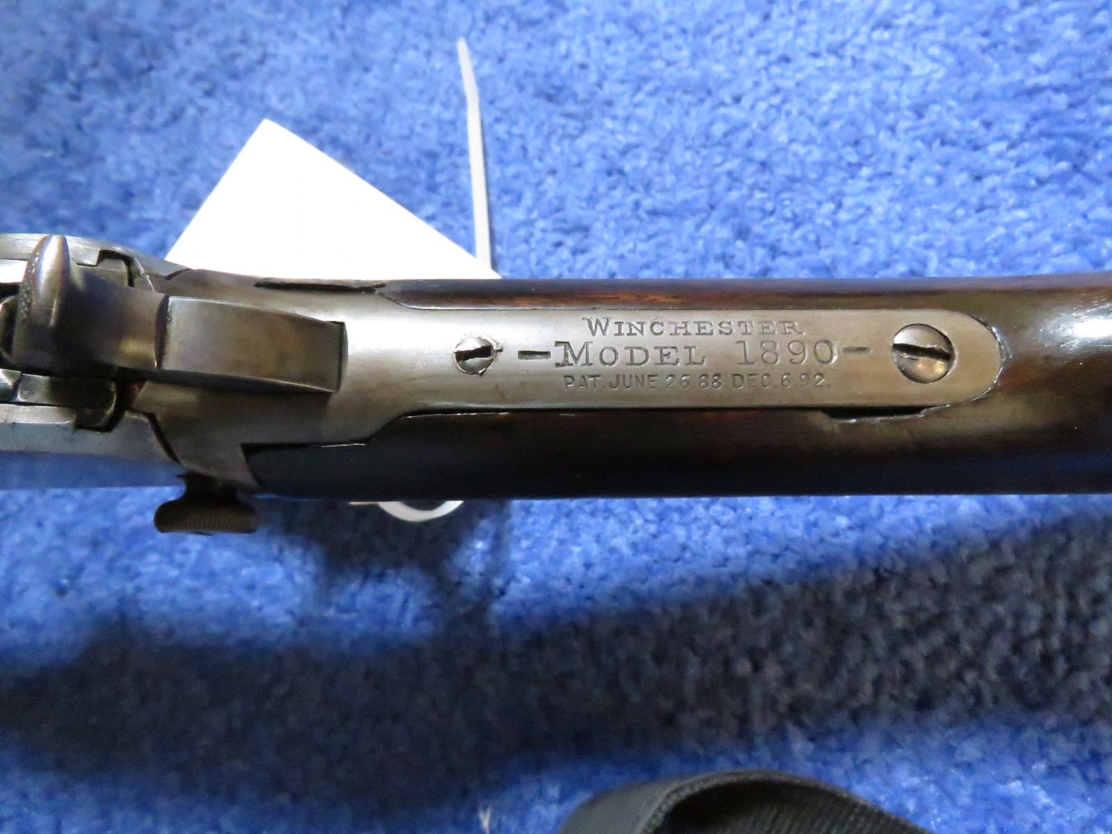 Winchester Model 1890 .22 Rifle - Image 4