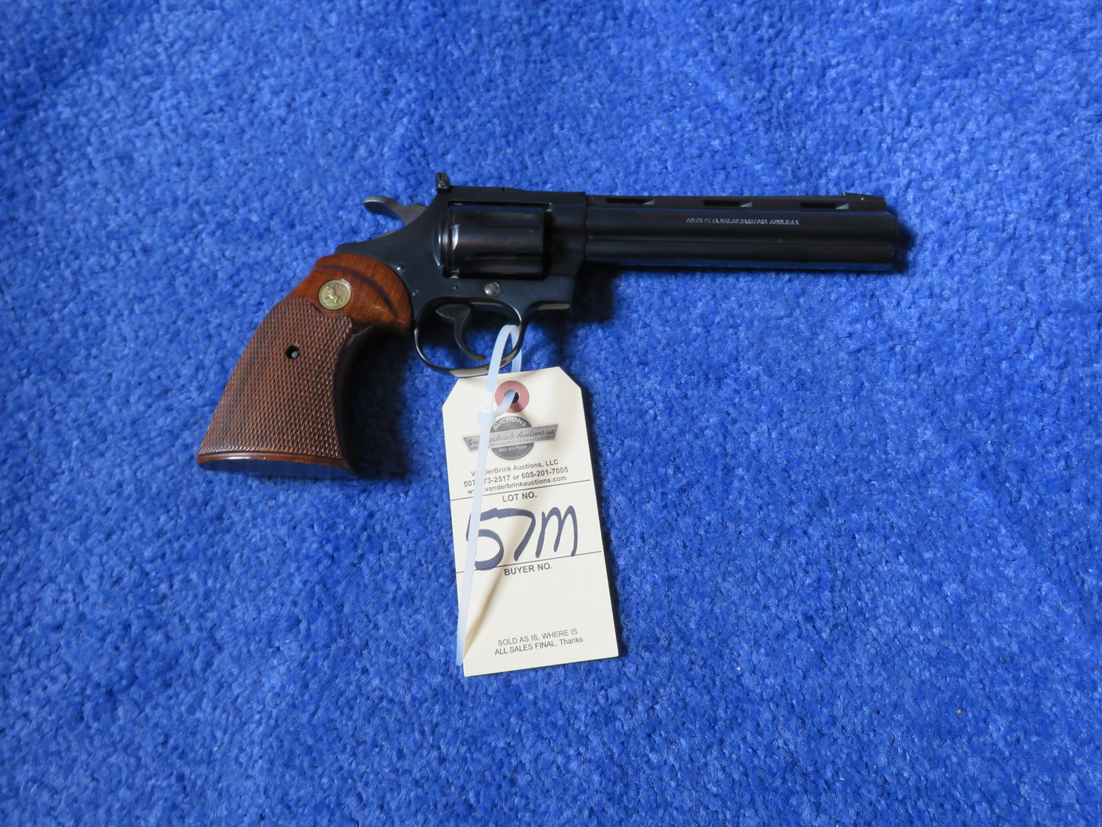 Colt Diamond Back .22 Revolver - Image 3