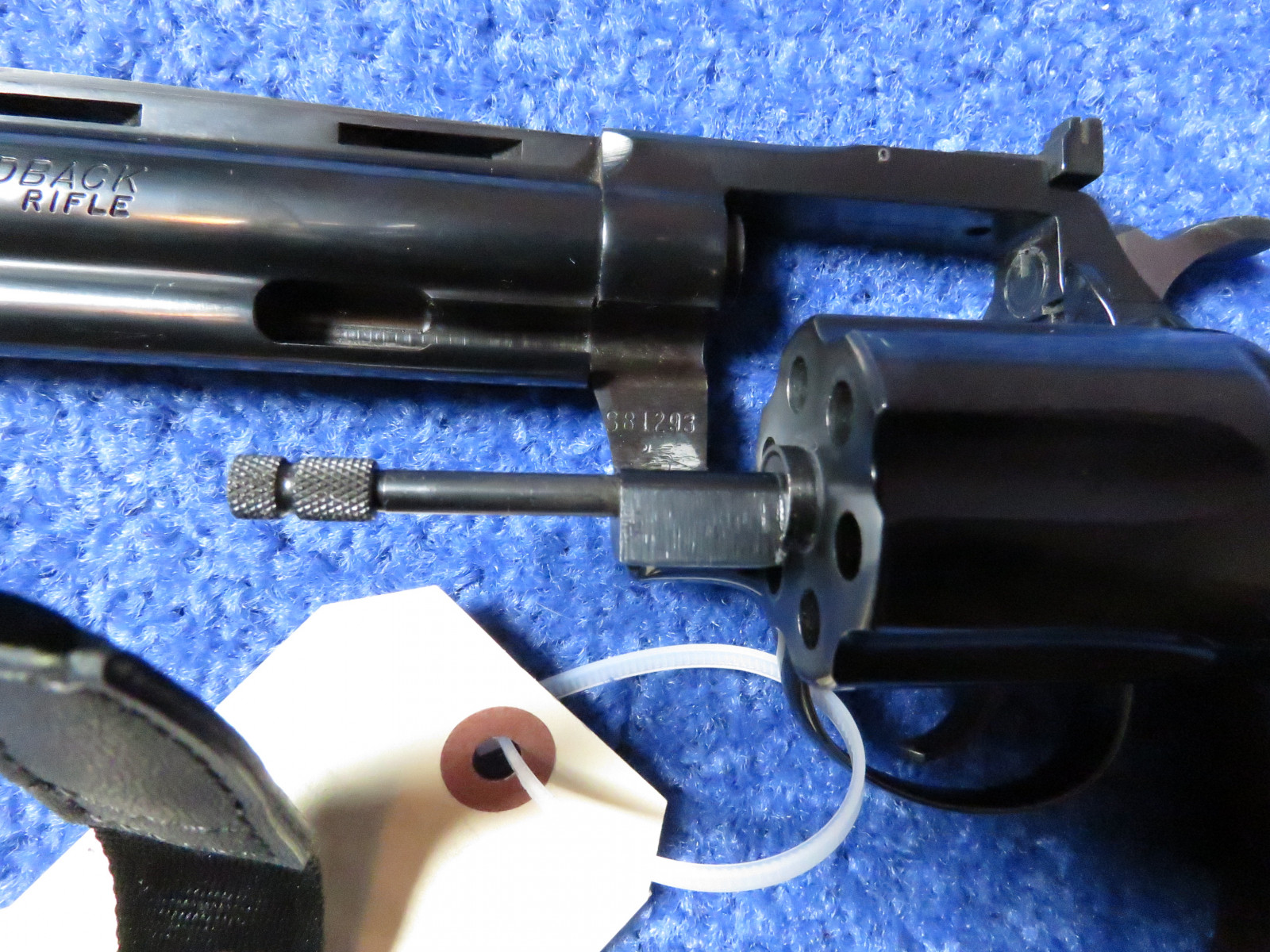 Colt Diamond Back .22 Revolver - Image 5