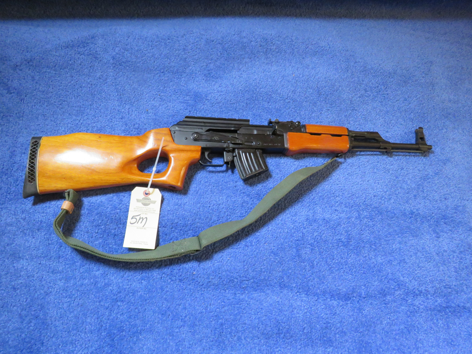 MAADI Corporation      AK-47 Semi-Automatic Rifle ES U3243 - Image 1