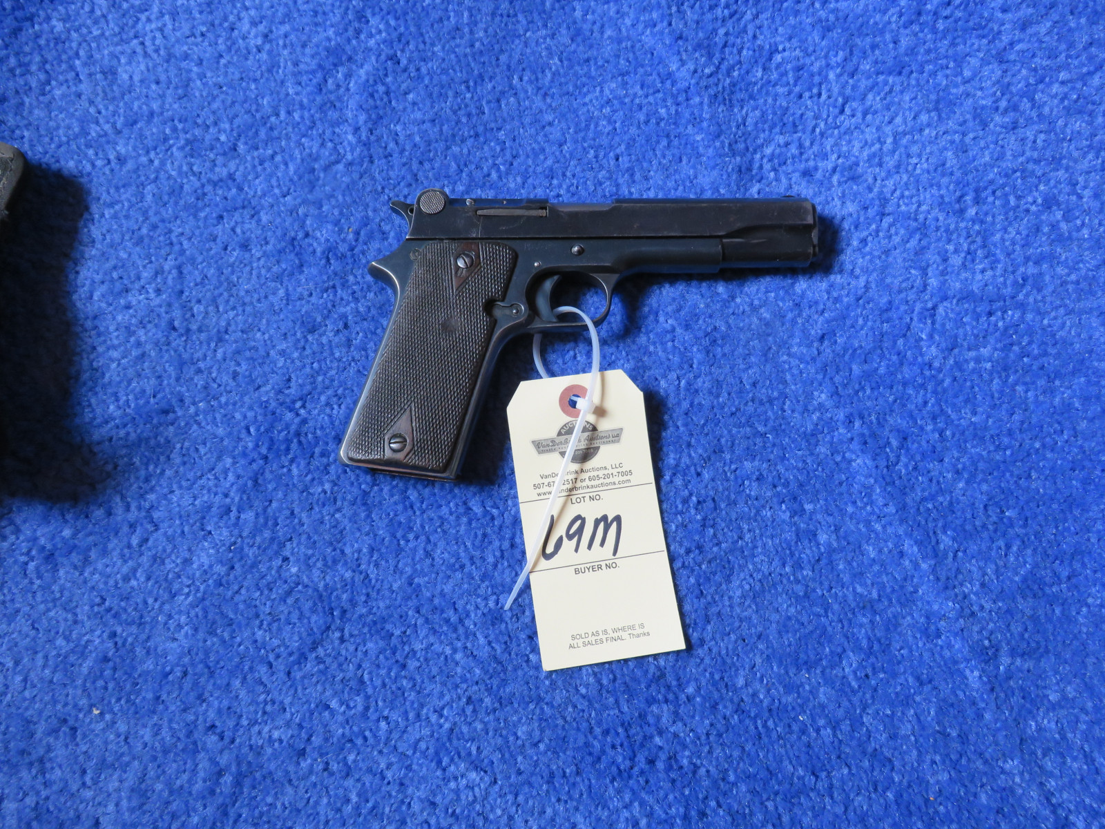 1921 Bonifacio Star 9MM Semi-Automatic Handgun - Image 1