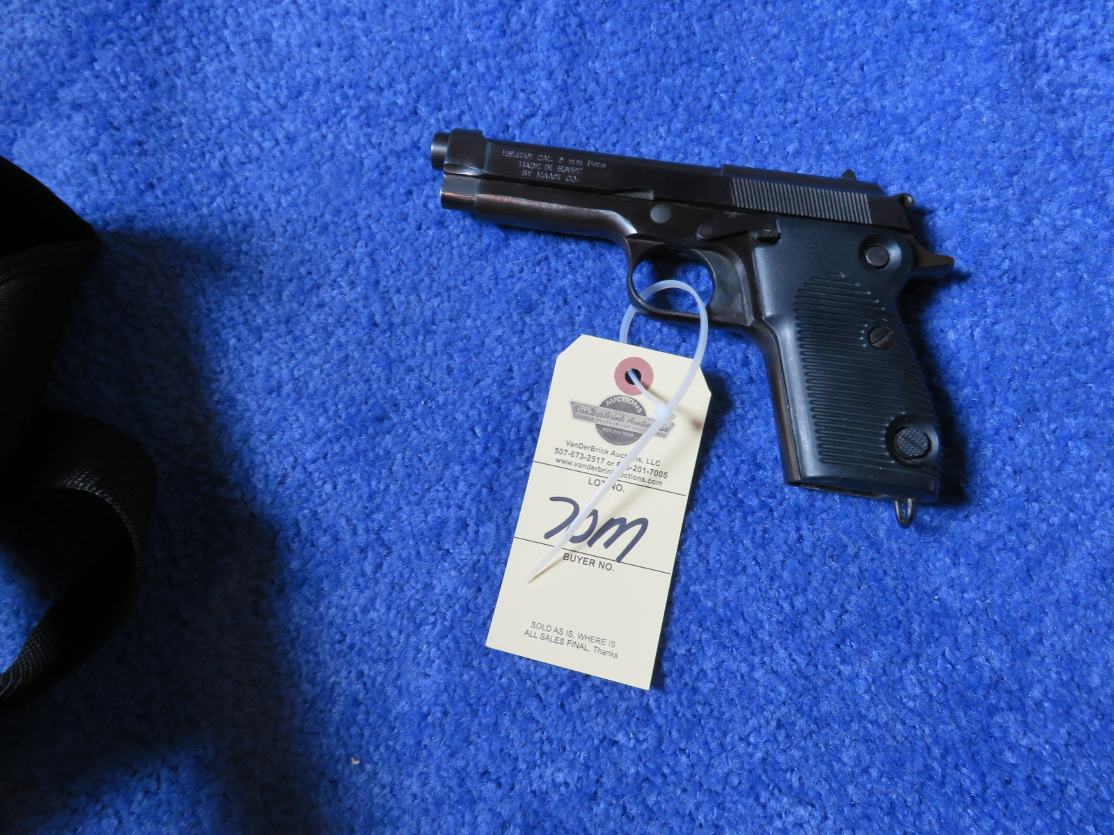 Helwan 9MM Semi-Auto Handgun - Image 1