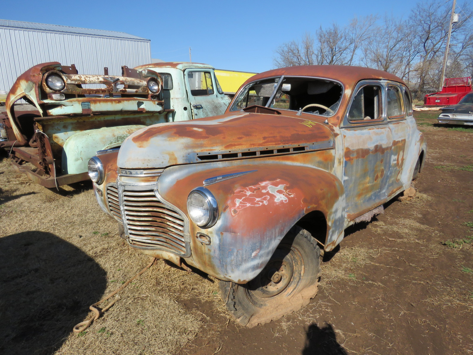 1941 Chevrolet 4dr Sedan Rolling Body - Image 1