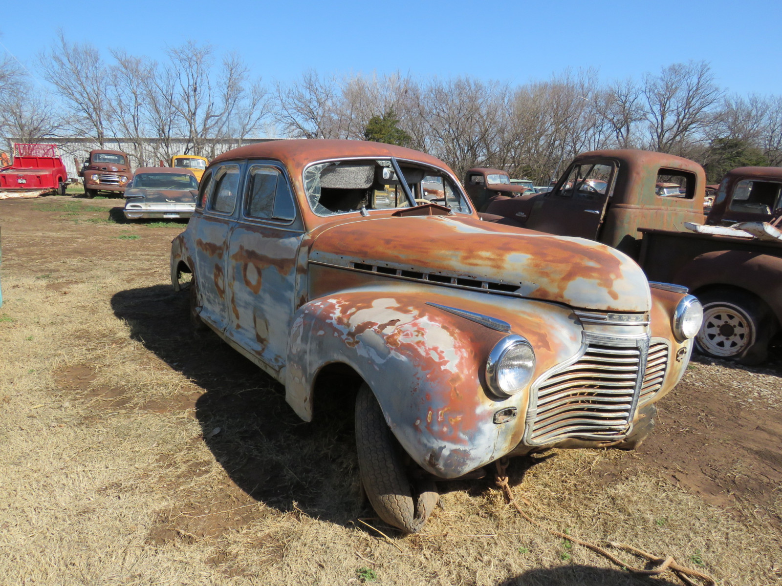 1941 Chevrolet 4dr Sedan Rolling Body - Image 2