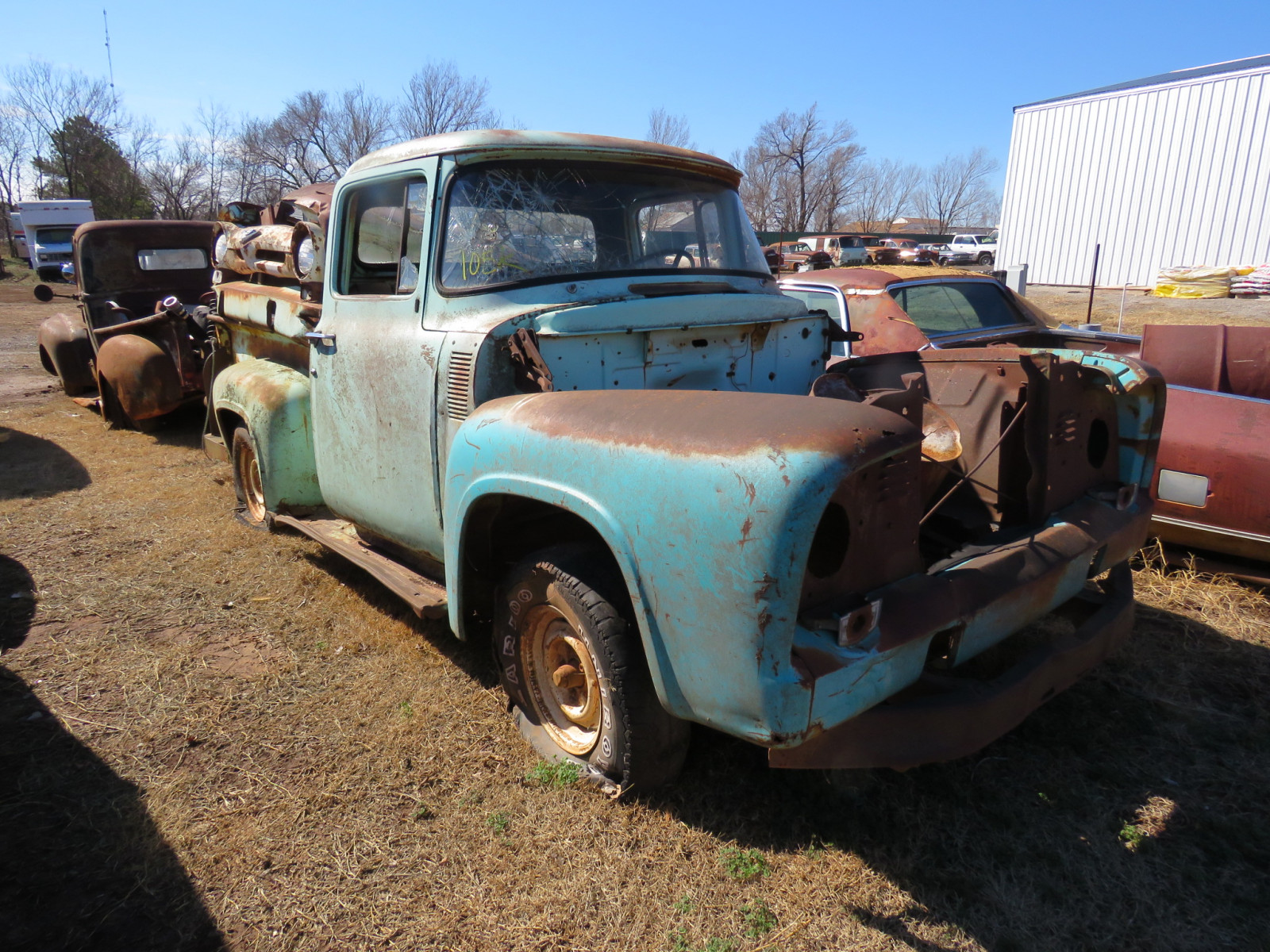 1950's Ford Pickup for parts - Image 1