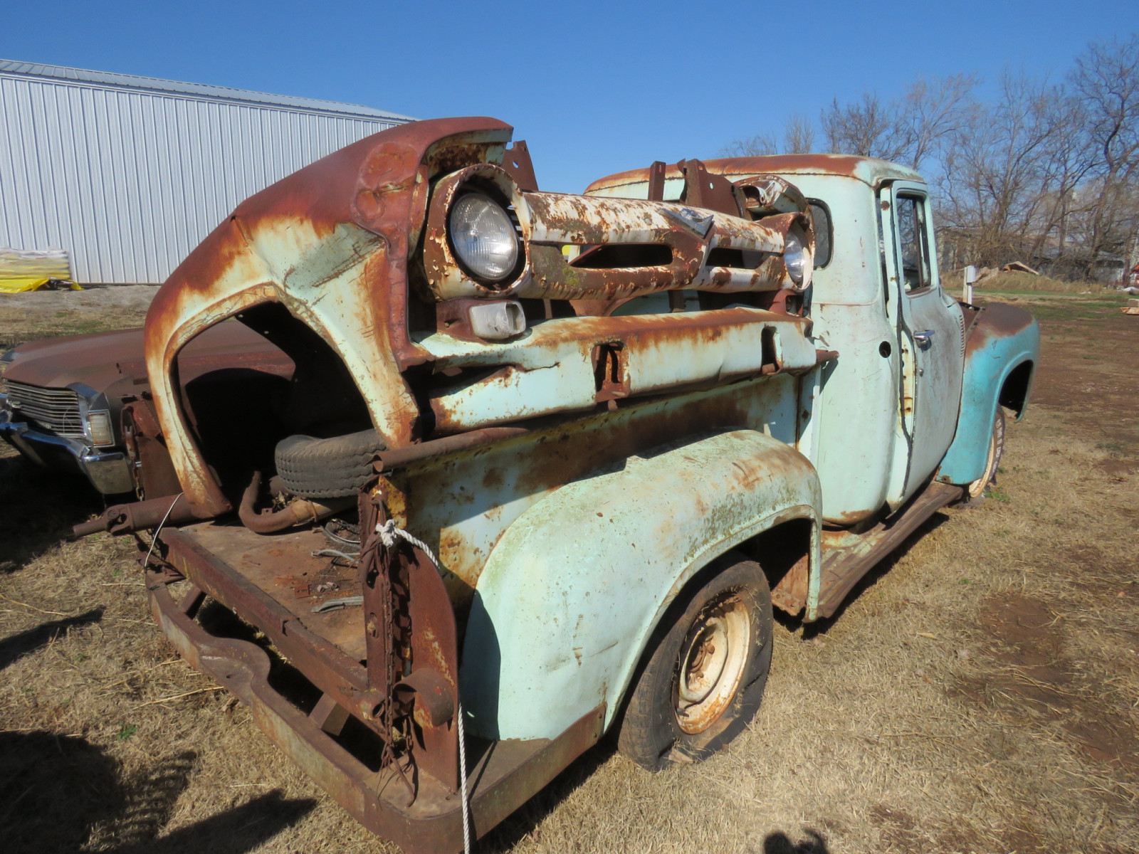 1950's Ford Pickup for parts - Image 3