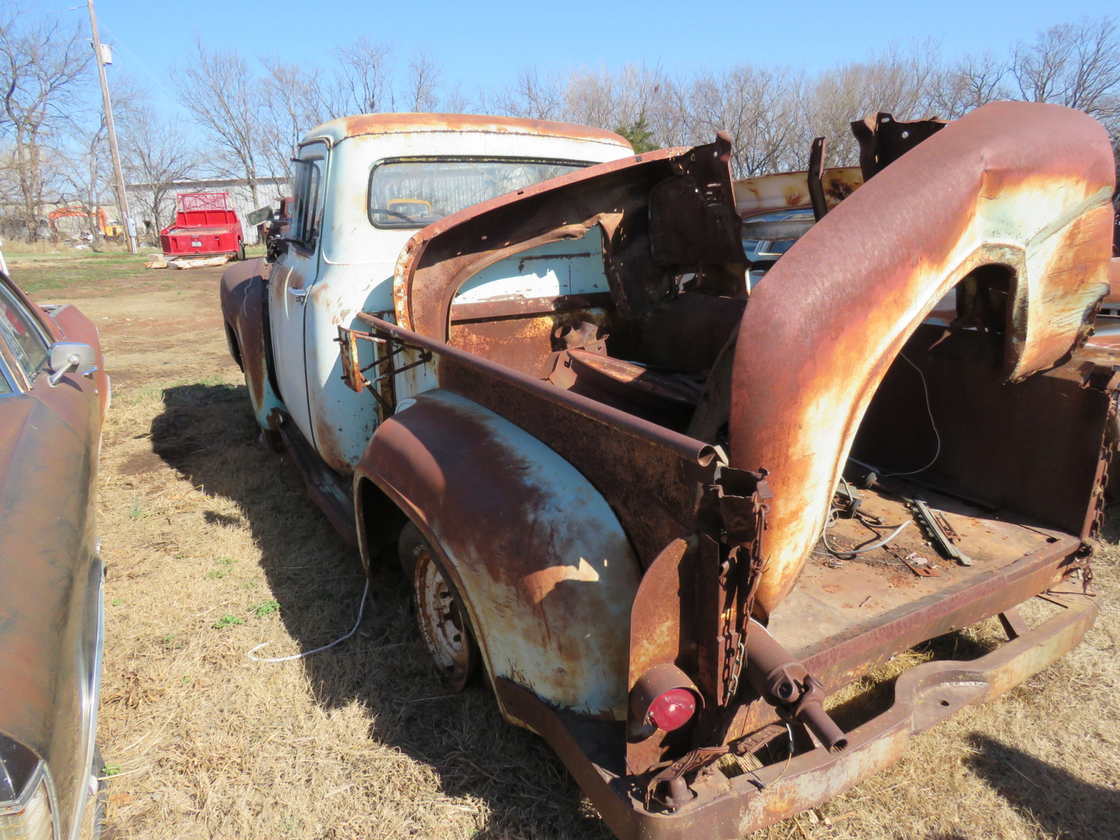 1950's Ford Pickup for parts - Image 4