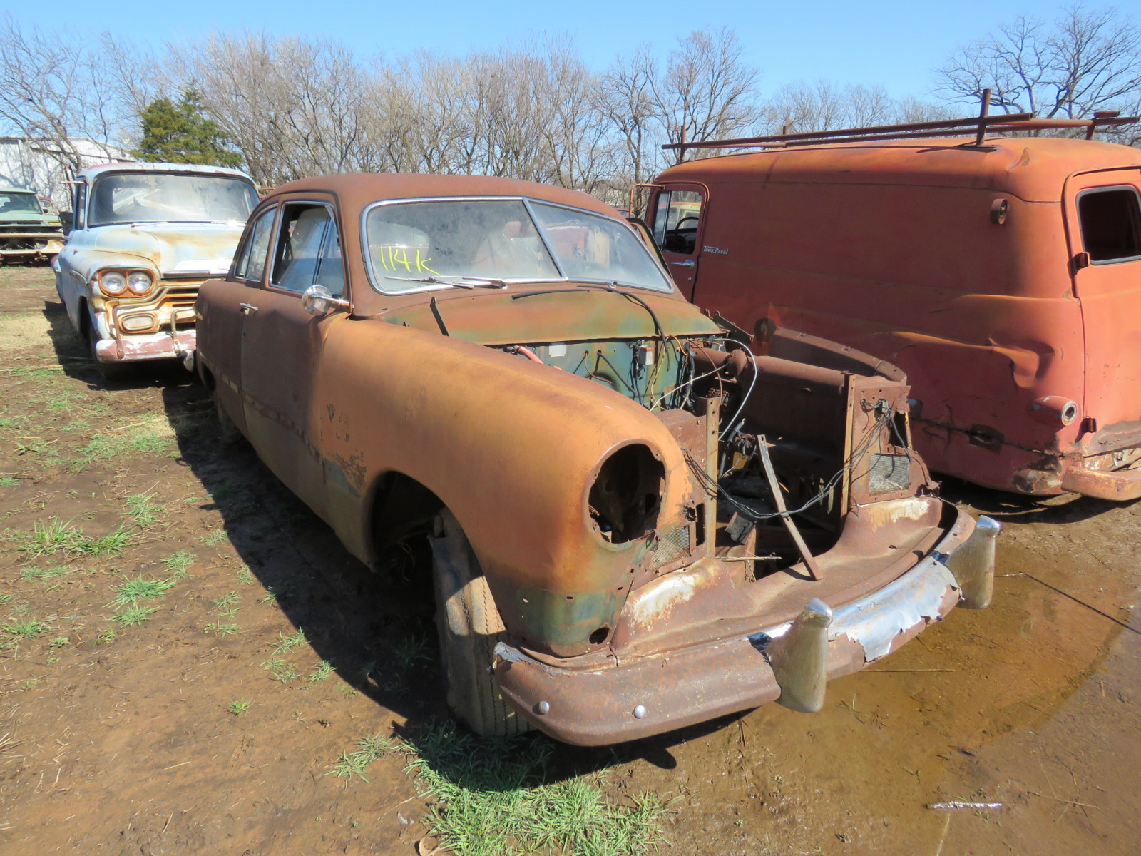 1950 Ford 2dr Sedan for Parts - Image 1