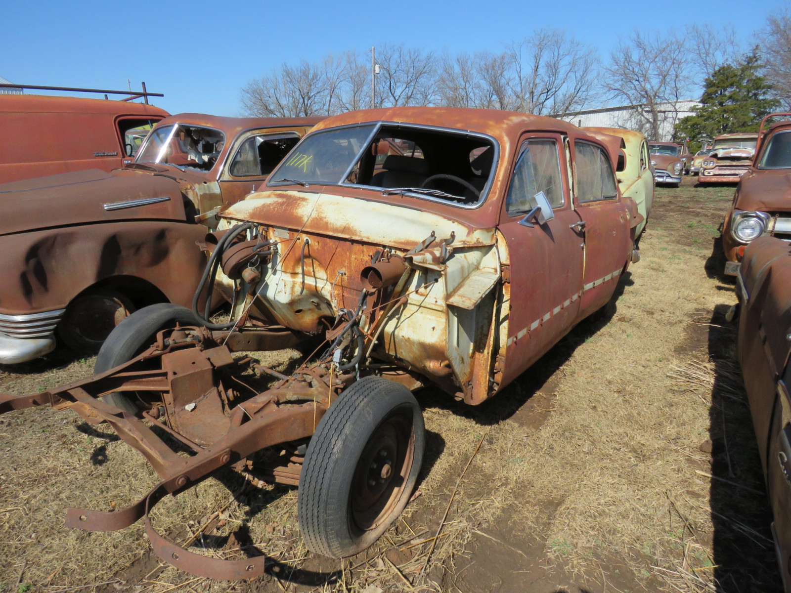 1951 Ford Sedan for parts - Image 2