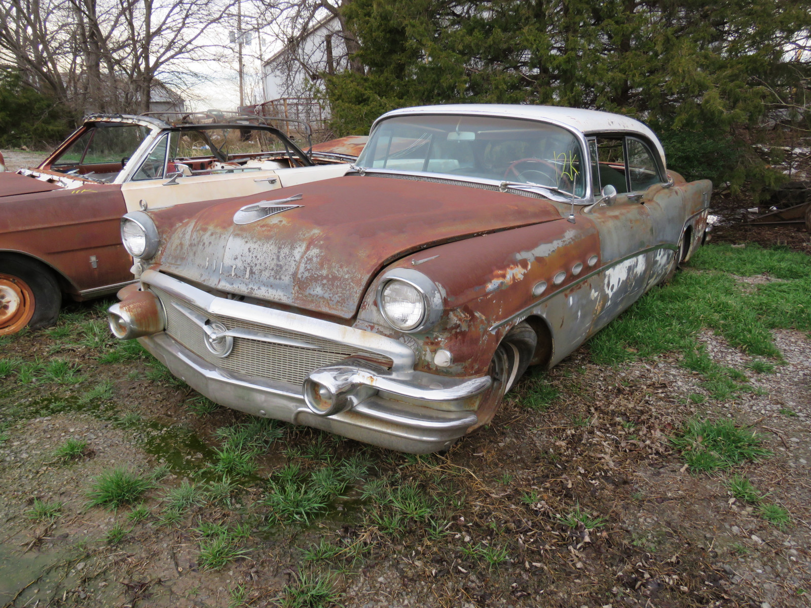 1956 Buick Roadmaster 4dr HT C1076048 - Image 1