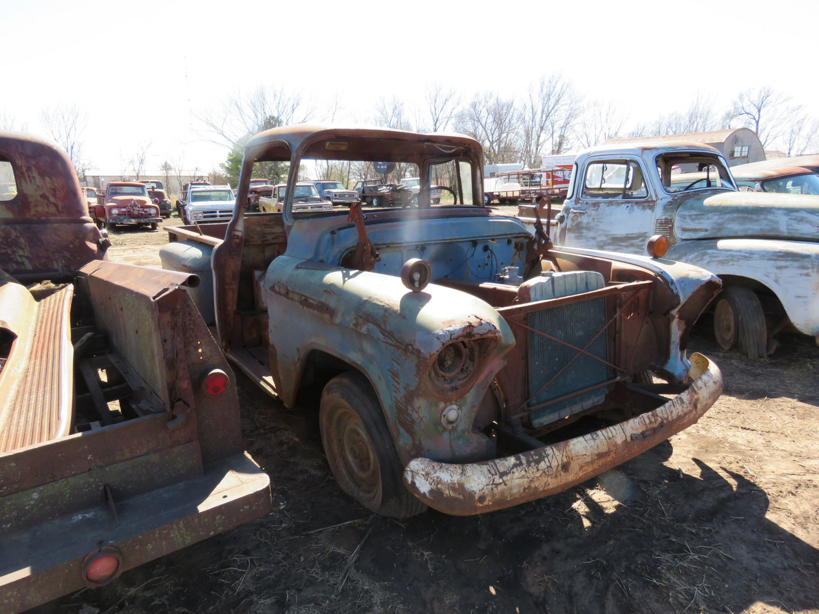 1955/6 Chevrolet Pickup for Parts - Image 1