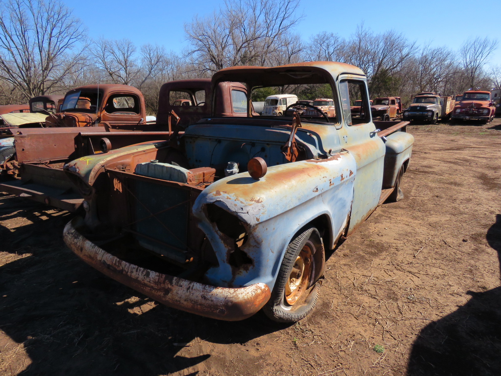 1955/6 Chevrolet Pickup for Parts - Image 2