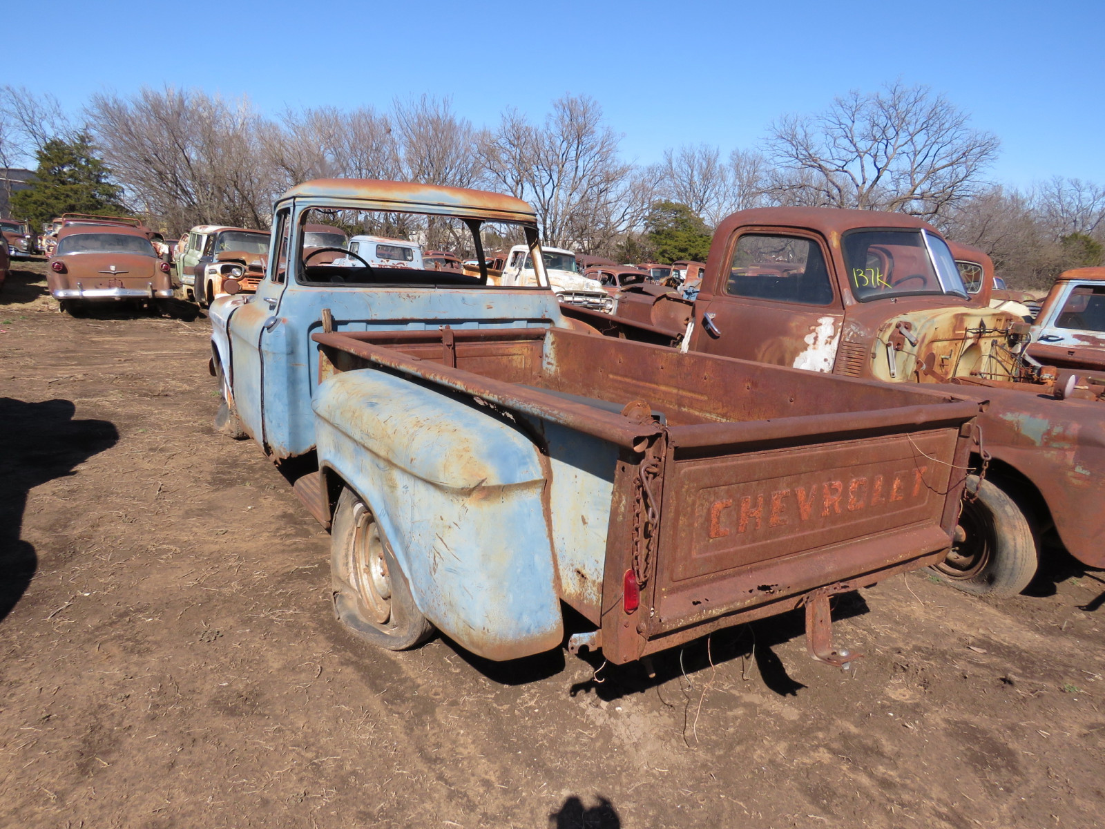 1955/6 Chevrolet Pickup for Parts - Image 3