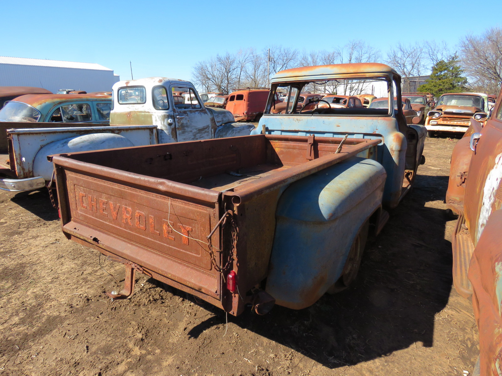 1955/6 Chevrolet Pickup for Parts - Image 4