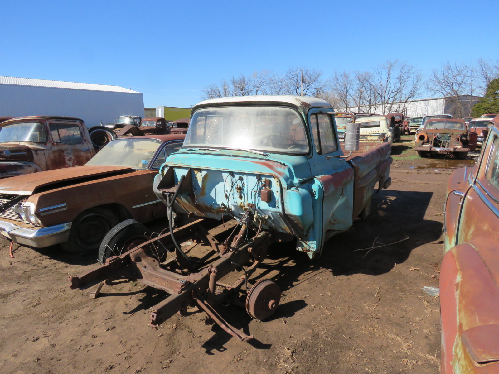 1950's Chevrolet Pickup for Parts - Image 1