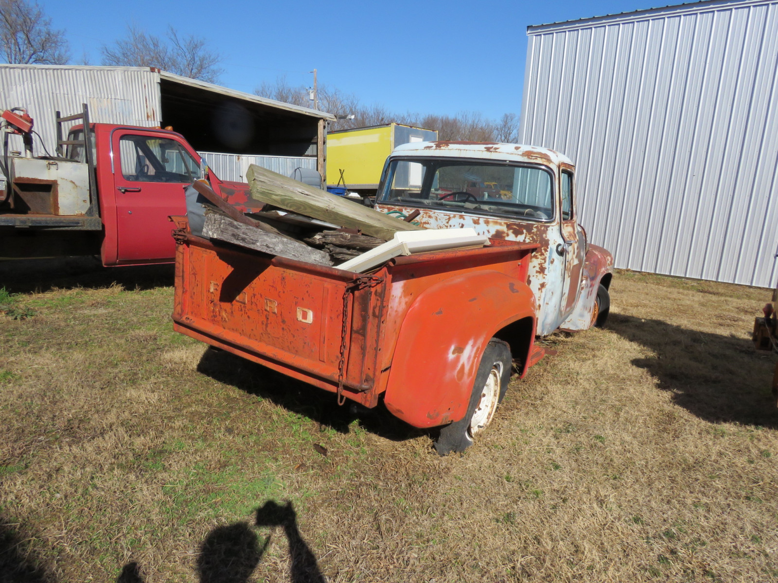 1956 Ford F100 Pickup - Image 4