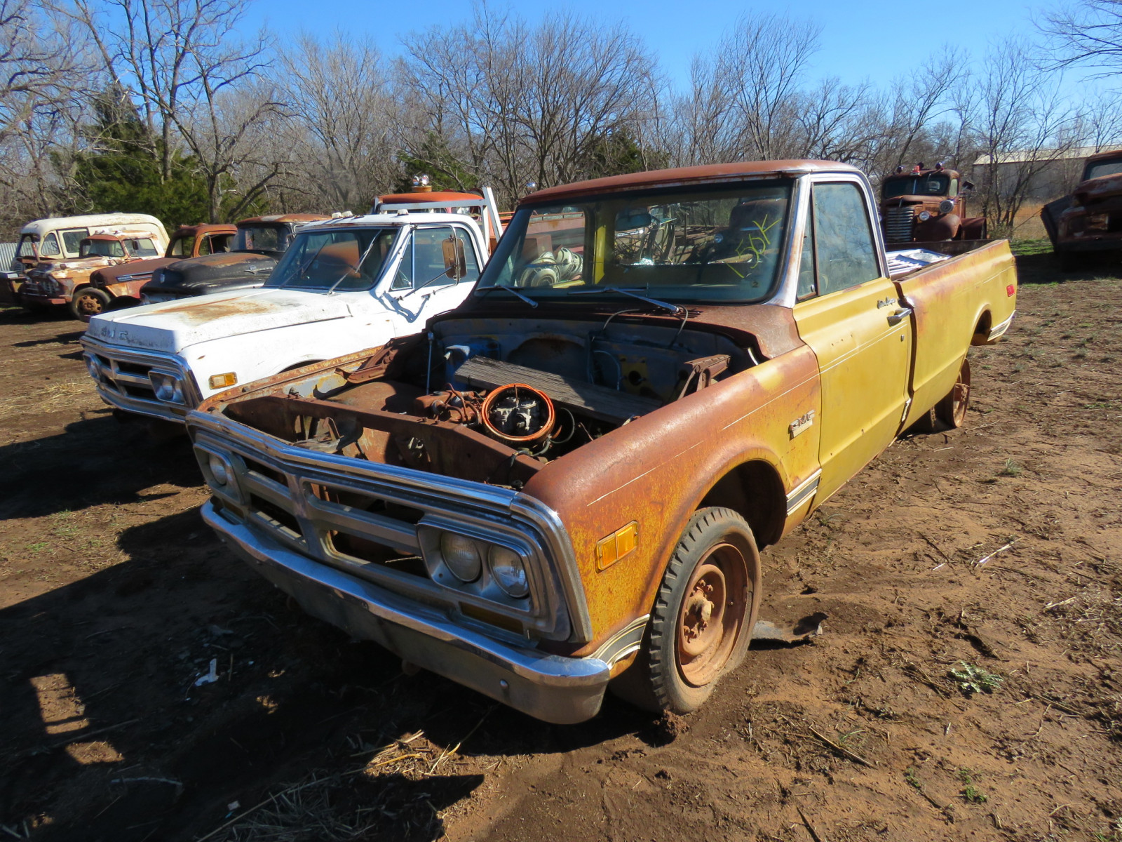 GMC Pickup for parts - Image 1