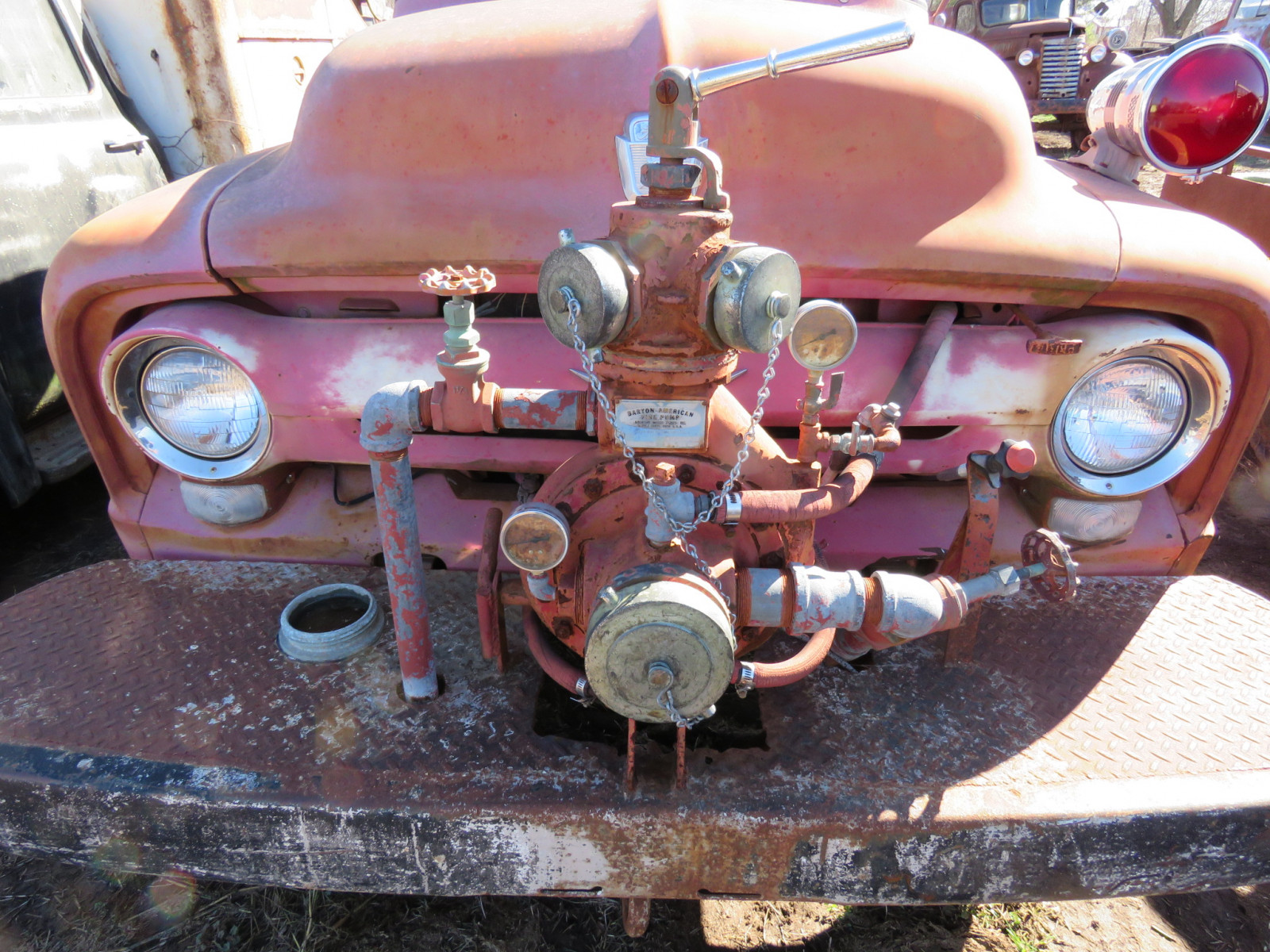 1956 Ford F600 Fire Truck - Image 3