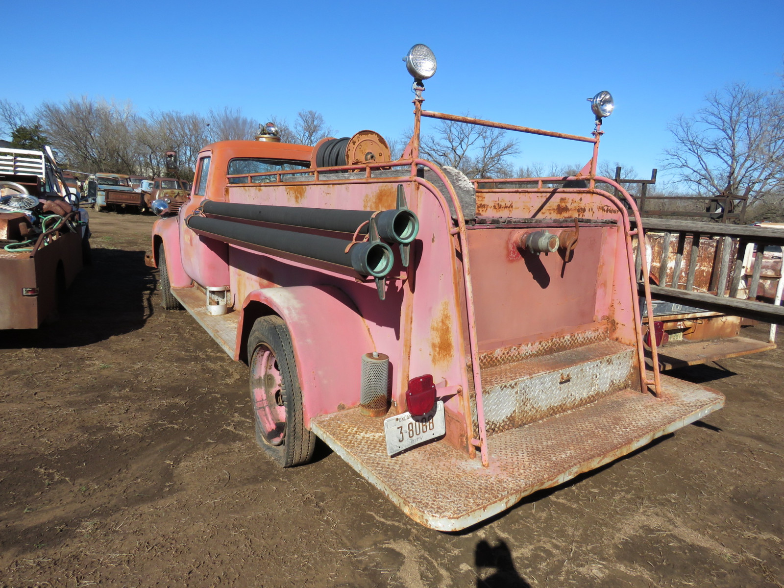 1956 Ford F600 Fire Truck - Image 5