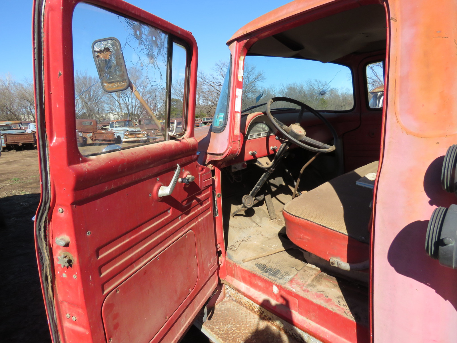 1956 Ford F600 Fire Truck - Image 9