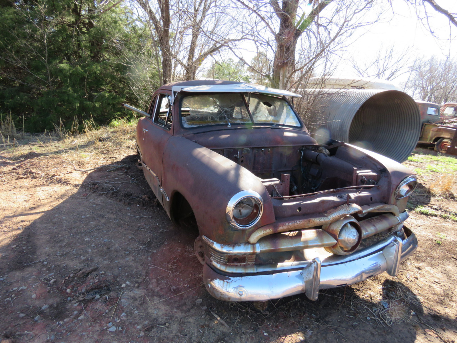 1949/50 Ford 2dr Sedan for parts - Image 2