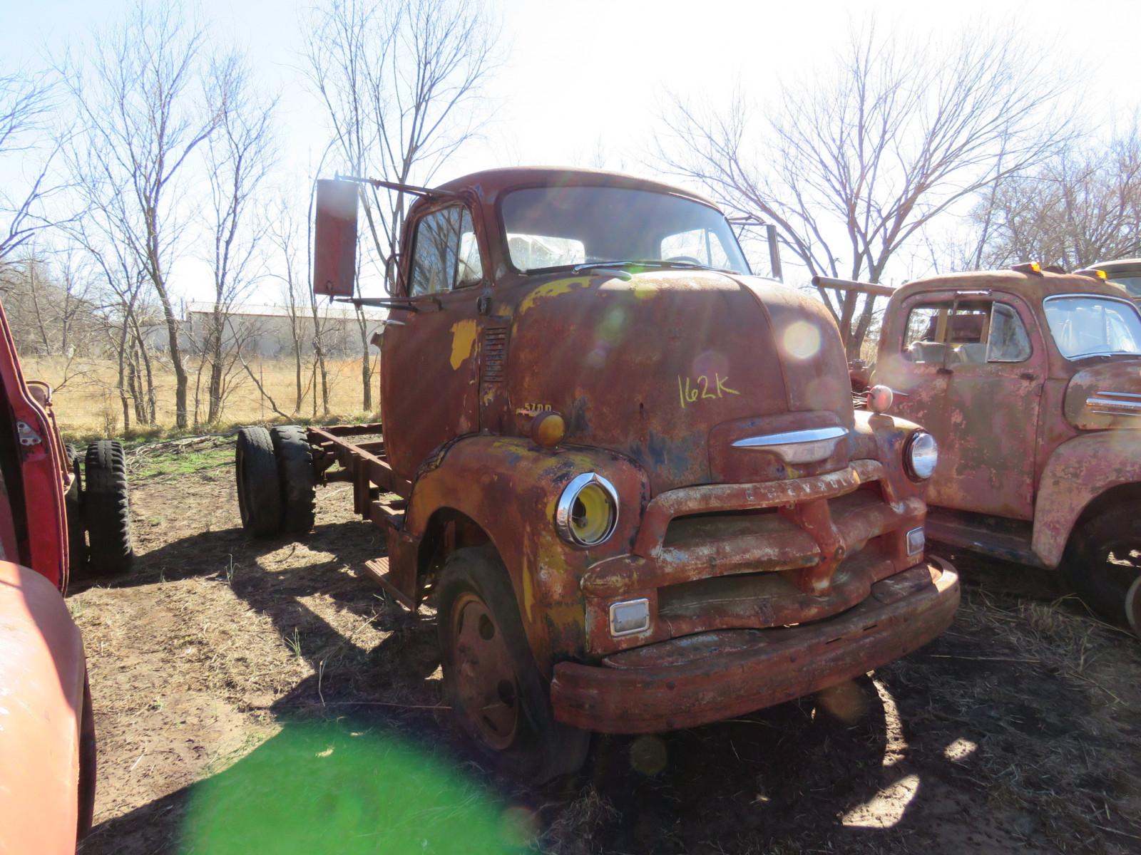 Lot 162k 1954 Chevrolet 5700 Coe Truck Vanderbrink Auctions Ford Image 1